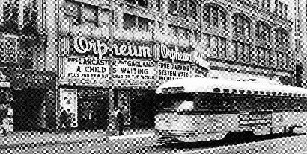 Orpheum Theatre Broadway Los Angeles Vintage Photo 1963 Los Angeles Vintage Los Angeles Los Angeles Photography