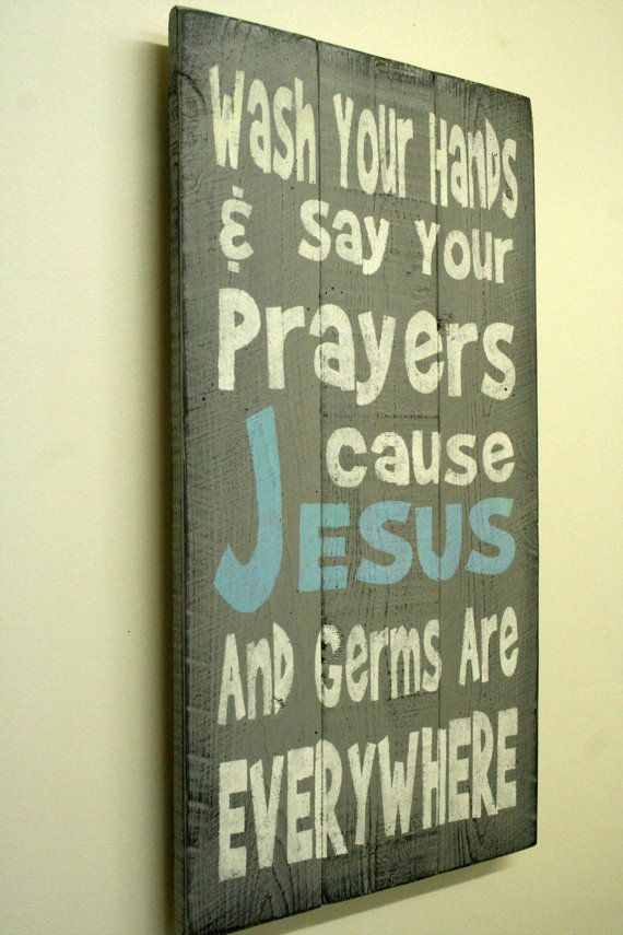 Wash Your Hands Sign Bathroom Sign Kids Sign Religious Sign Christian Sign  Pallet Sign Shabby Chic. Wash Your Hands Sign Bathroom Sign Kids Sign Religious Sign