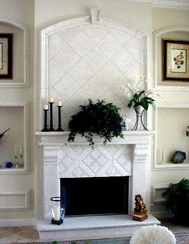stone design inc cast stone fireplace kits mantels pinterest rh pinterest com