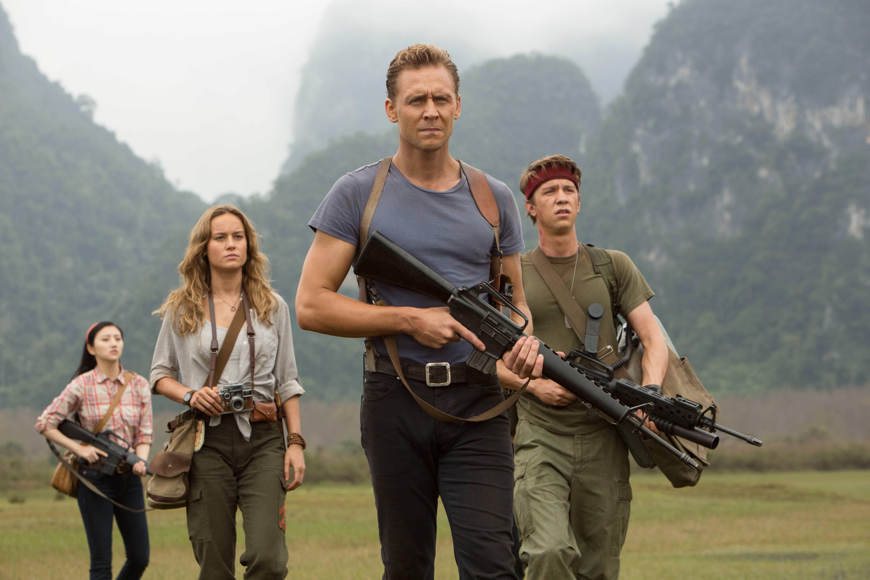 I quite enjoyed Kong Skull Island. I love the film's cast