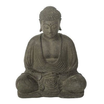 My Spirit Garden Volcanic Ash Peaceful Buddha Statue