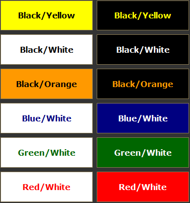 Best Color Combos contrasting colors of the color wheel | color | pinterest