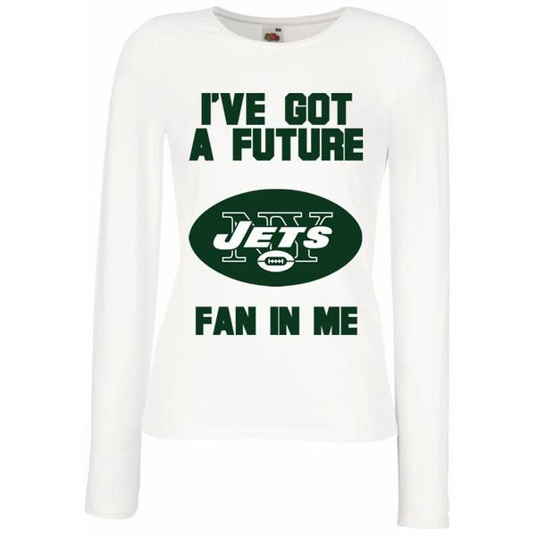 New York Jets Baby New York Jets Shirt Long Sleeve Women Maternity... ( 22)  ❤ liked on Polyvore featuring maternity 42d3210be1