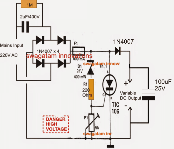 Ac Variable Power Supply Circuit With Pcb 0 30v 3a Power Supply Circuit Circuit Power Supply