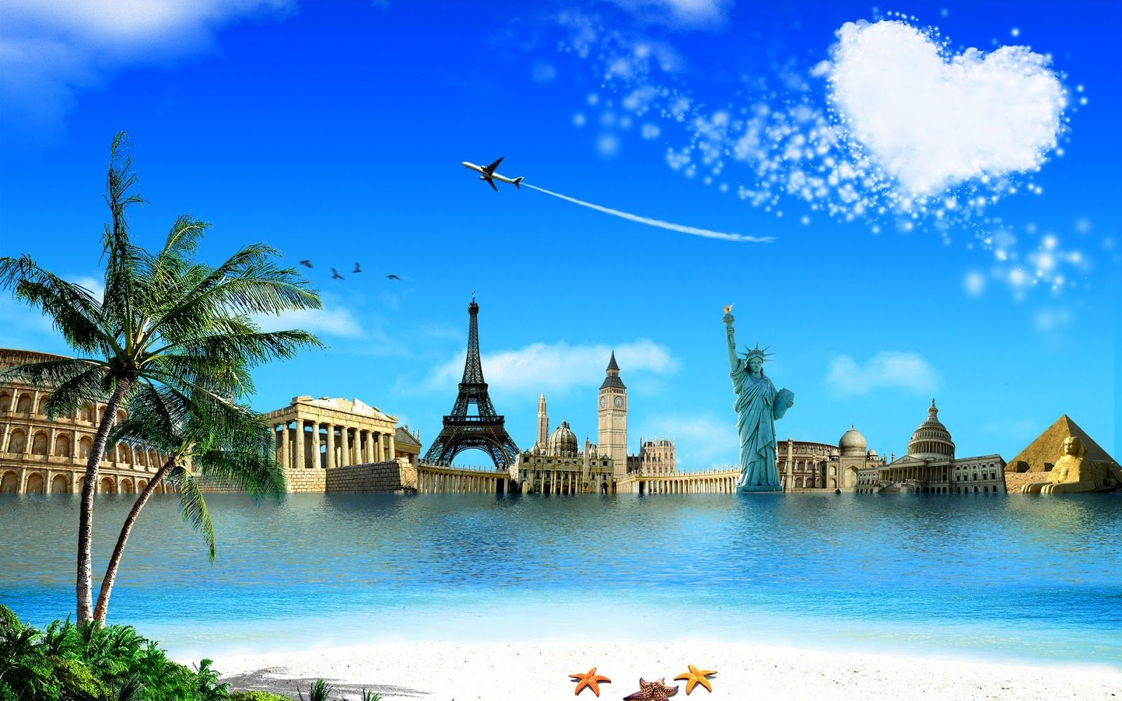 Wonders Of The World D Wallpaper Free 1600x1000 Wallpapers 49