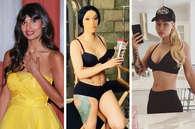 Cardi B Unveils Dramatic Before And After Makeover Of: Jameela Jamil Is Not Holding Back After Cardi B Responded