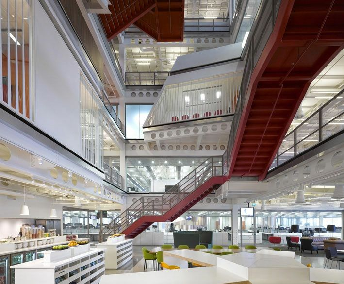 macquarie london office. Macquarie Group London Ropemaker Place By Clive Wilkinson Office I