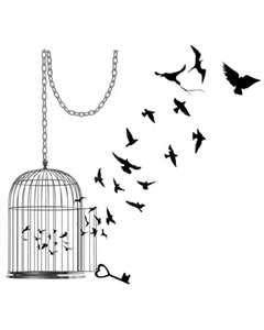 Bird Cage Tattoo Love Free Download 15367 Inkwear