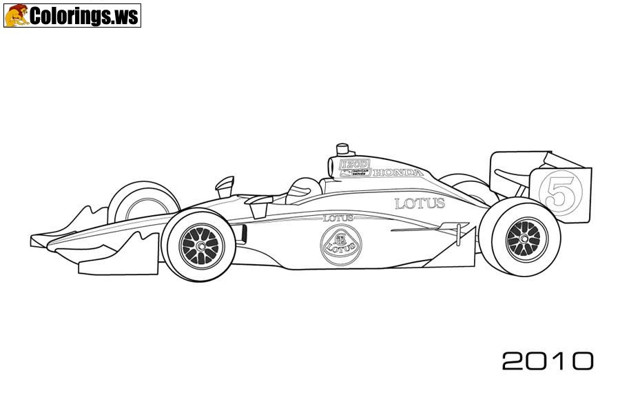 Indy Car Coloring Pages Car Coloring Pages The 1880s Were The