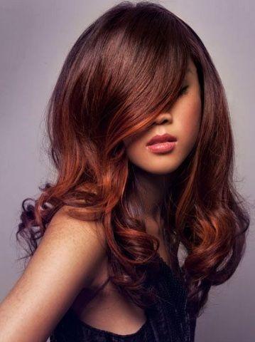 Les photos de couleur de cheveux