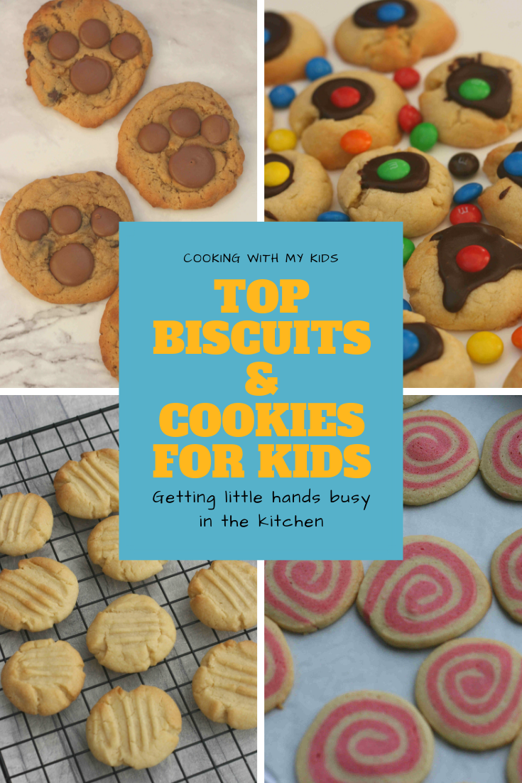 Easy Biscuit And Cookie Recipes For Kids Biscuits Easy Easy Biscuit Recipe Cookies For Kids