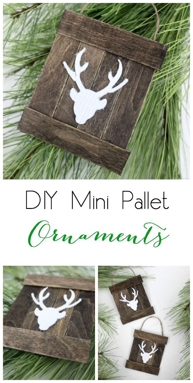 12 DIY CHRISTMAS ORNAMENT IDEAS #weihnachtenholz