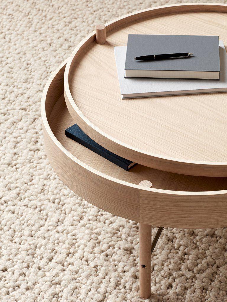 Turning Table Scandinavian Table Menu Furniture Simple Side Tables [ 1024 x 768 Pixel ]