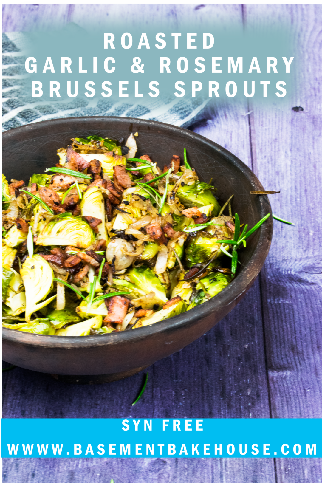 you need to make this delicious crispy roasted garlic rosemary brussels sprouts recipe this christmas - Christmas Side Dishes Pinterest