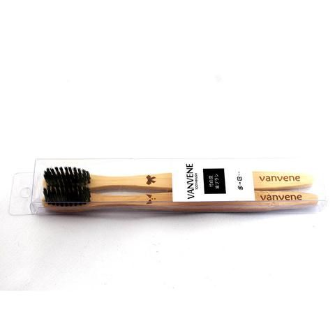 Vanvene Wood Toothbrush Set - RM28.90  When it comes to keeping our teeth clean, what better way than to keep the environment clean at the same time with this cute Vanvene Wood Couple Toothbrush Set!  Features: Material: Wood Black nylon bristles Cute male and female print
