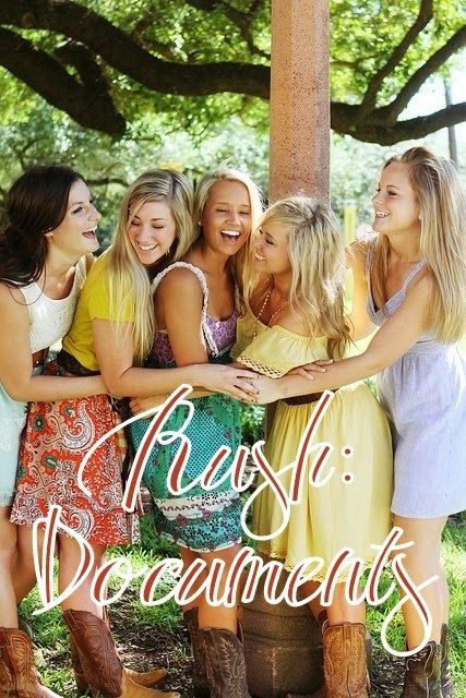 Go Greek Get Your Papers in Order, rush, recruitment, sorority - resume order