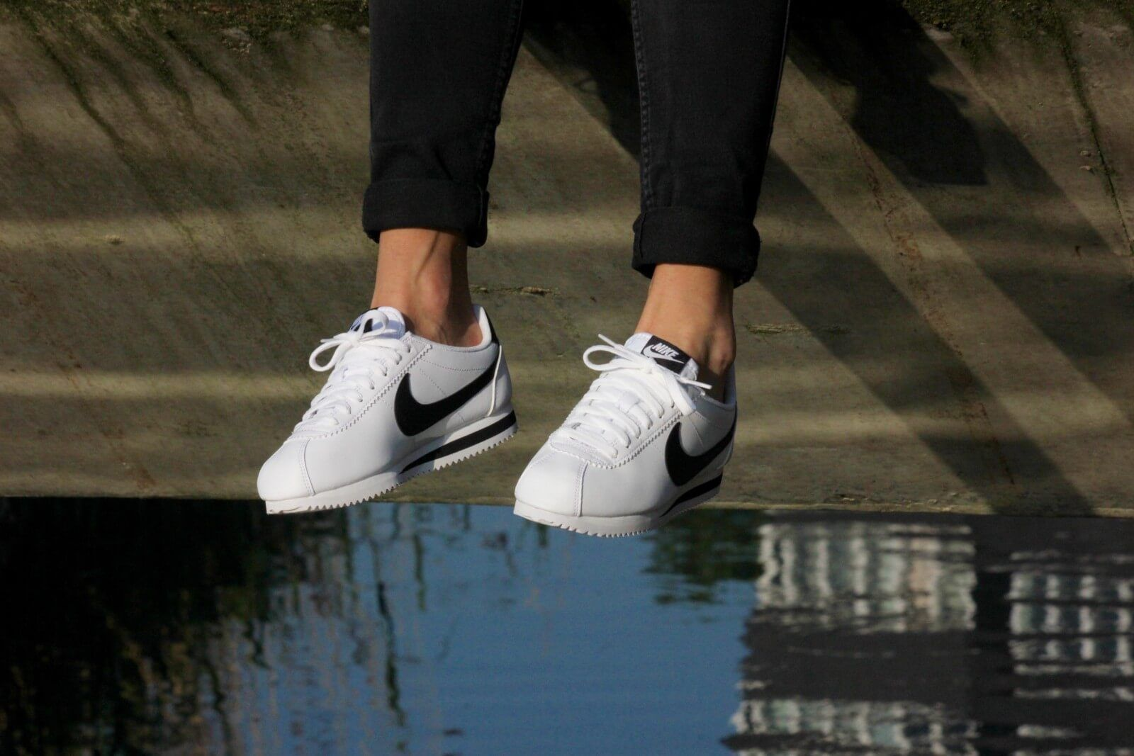 check out 9faa8 9694d Nike WMNS Classic Cortez Leather White Black-White - 807471-101