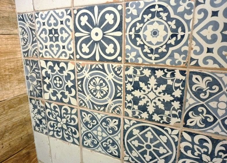 Sydney Patterned Tiles Encaustic Look Artisan Floor Tile Wall