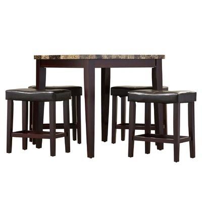 Arline 5 Piece Pub Table Set | Pub table sets