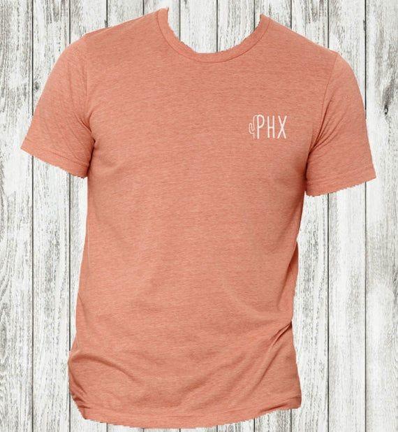 PHX Rust Tee   Southwest T-Shirt   Arizona Cactus T-Shirt   Phoenix Shirt   Desert Love Shirt   Arizona Sunset   Southwest Vibes Shirt #arizonacactus