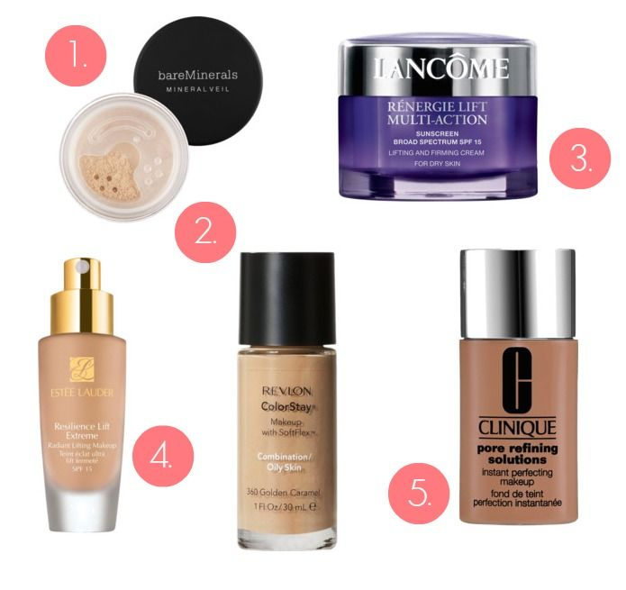 Best Foundation For Your Skin Type Oily Combination Dry Acne E Aging All The