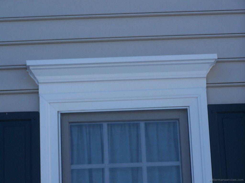 Detailed Aluminum Trim Coil Window Header