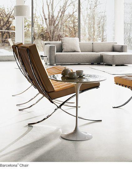 Shop Living Room Furniture Barcelona Chair Living Room Knoll Furniture Knoll Furniture Chairs