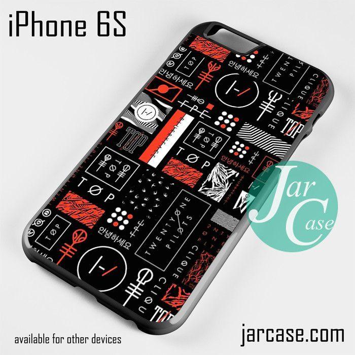 Twenty One Pilots All Symbol Phone Case For Iphone 66s6 Plus6s