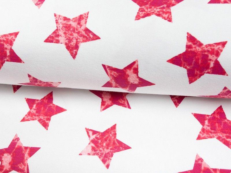 Jersey Sterne weiß-rot