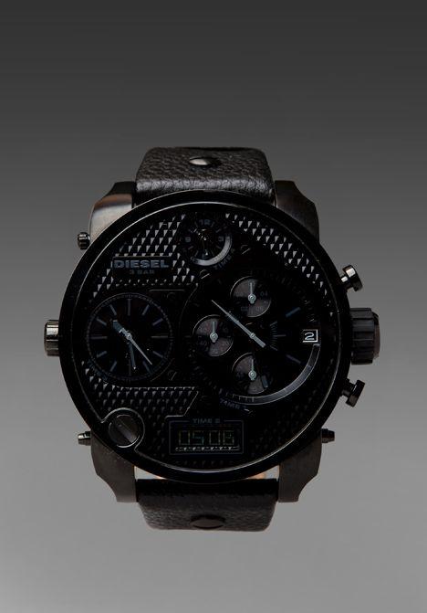 71f122fa517c DIESEL DZ7193 SBA Watch in All Black at Revolve Clothing - Free Shipping!