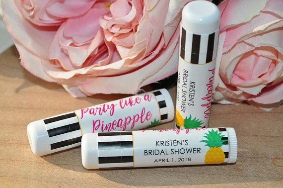 bridal shower favors lip balm labels wedding lip balm labels bachelorette party engagement