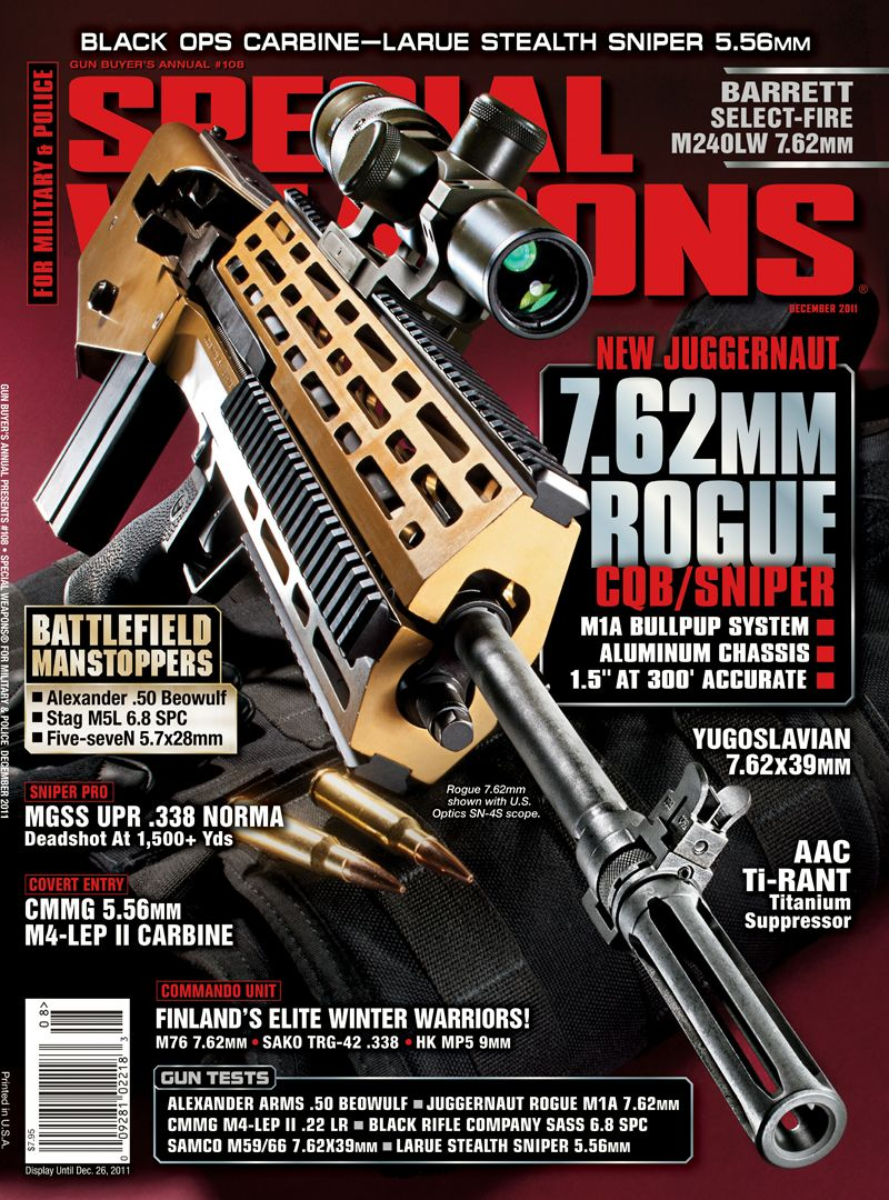 Juggernaut Tactical's Rogue System Turns A Standard M1a Rifle Into A  Closequarters Weapon,