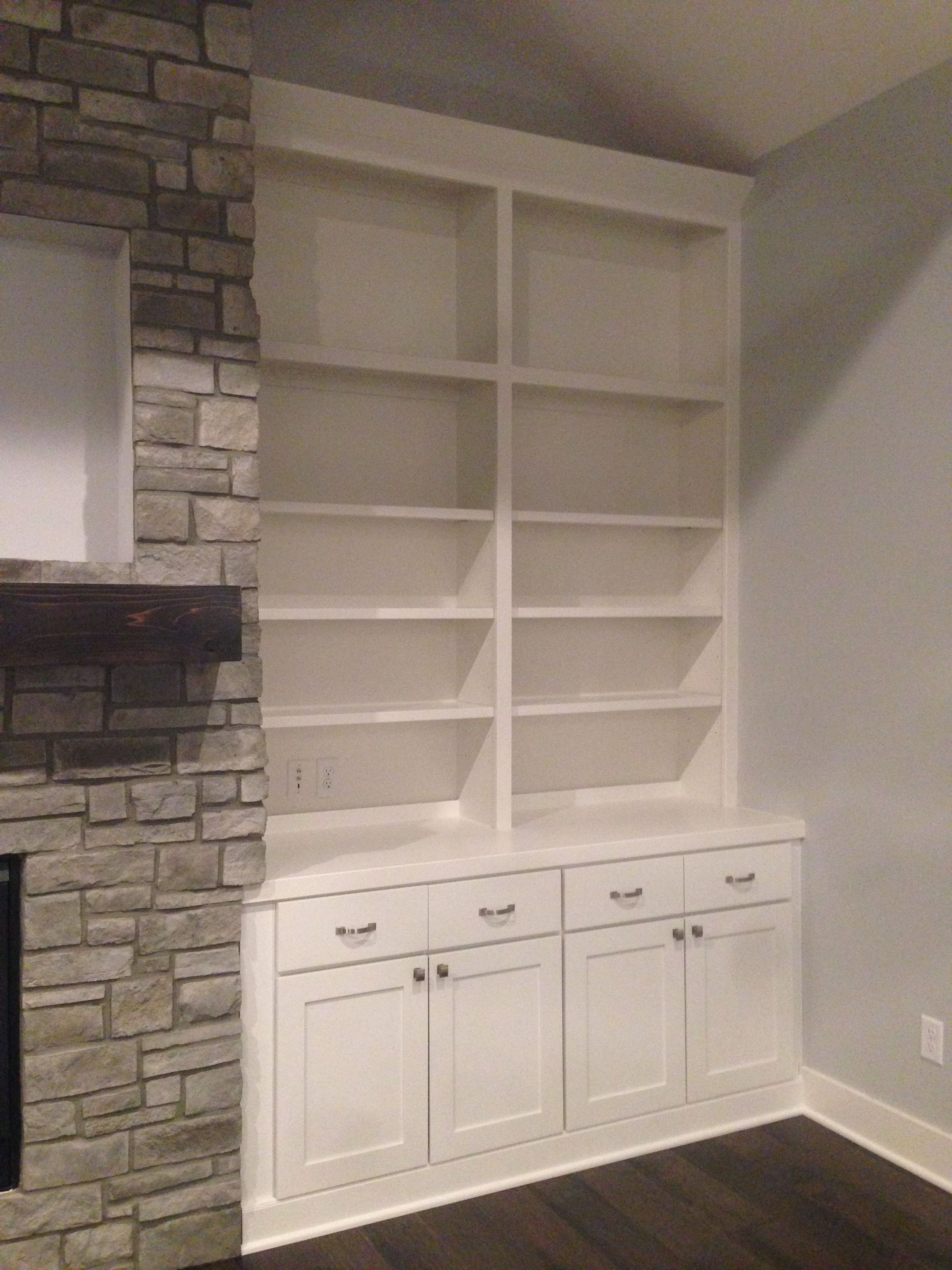 Built In Cabinetry And Bookcases White Painted Cabinets