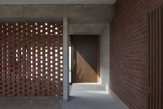 Gallery Of Casa Ruidera Taller Agf 20 In 2020 Brick In The Wall Brick And Stone Floor Plans