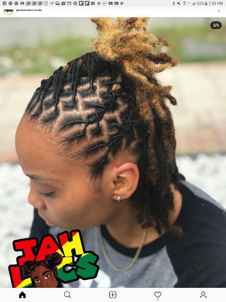 Pin By Tangelaramsey On Locs In 2020 Short Locs Hairstyles Dreads Short Hair Locs Hairstyles