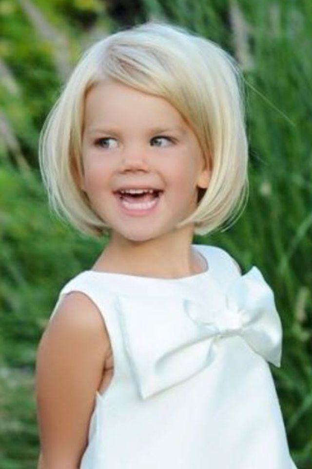 Pin By Bibi Anca On Kapsels Voor Kids Little Girl Haircuts Toddler Girl Haircut Bob Haircut For Girls