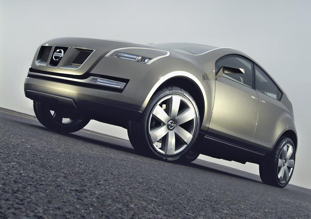 The Nissan Qashqai Concept Is A Compact Crossover With An Advanced