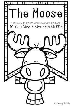 If You Give A Moose A Muffin Mini Book Kindergarten Books Mini