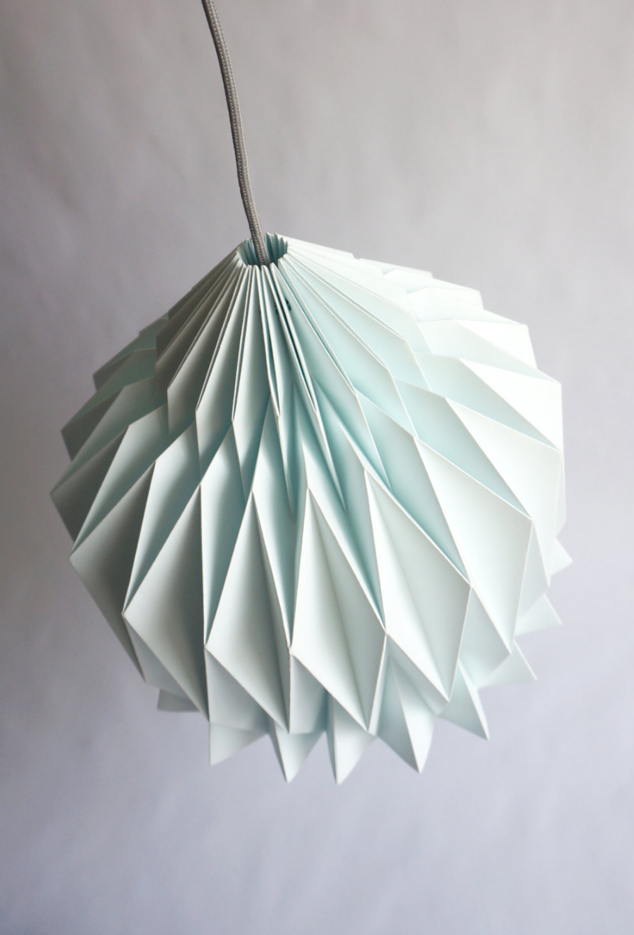 Origami Lampshade Cutandfolddesign On Etsy Paper Lampshade