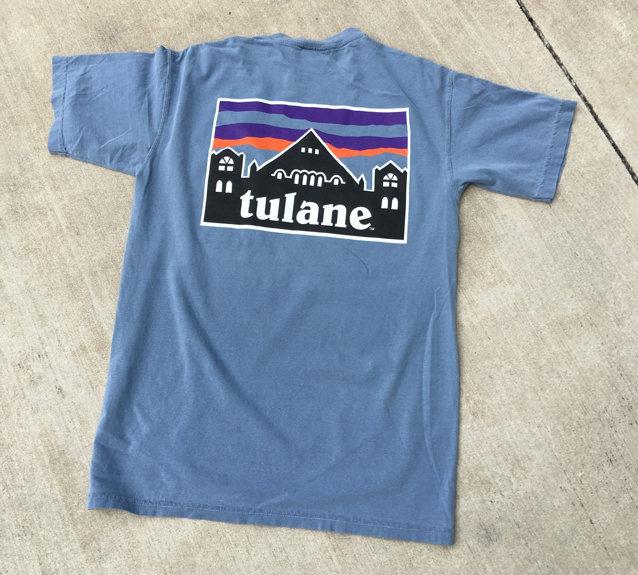 Home college tulane green wave tulane green wave silver plated - Our Original New Tulane University Comfort Colors Pocket Tee Features A Preppy Bowtie Theme For That