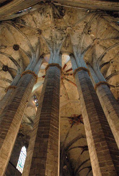 Santa María Del Mar Barcelona Fotos De Barcelona Santa Maria Galeria De Arte