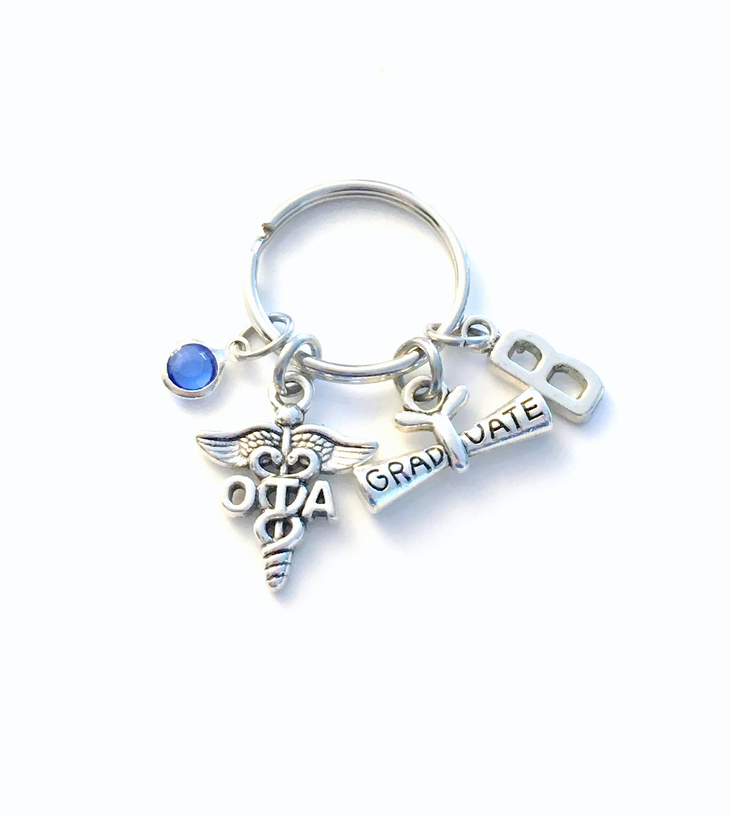 Graduation gift for ota keychain occupational therapy
