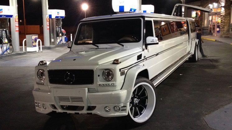 mercedes benz g55 amg limousine on forgiatos rides magazine