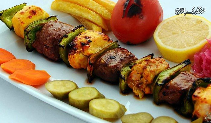 کباب بختیاری لذیذ در کبابی بناب آذربایجان با % تخفیف و پرداخت  تومان به جای  تومان