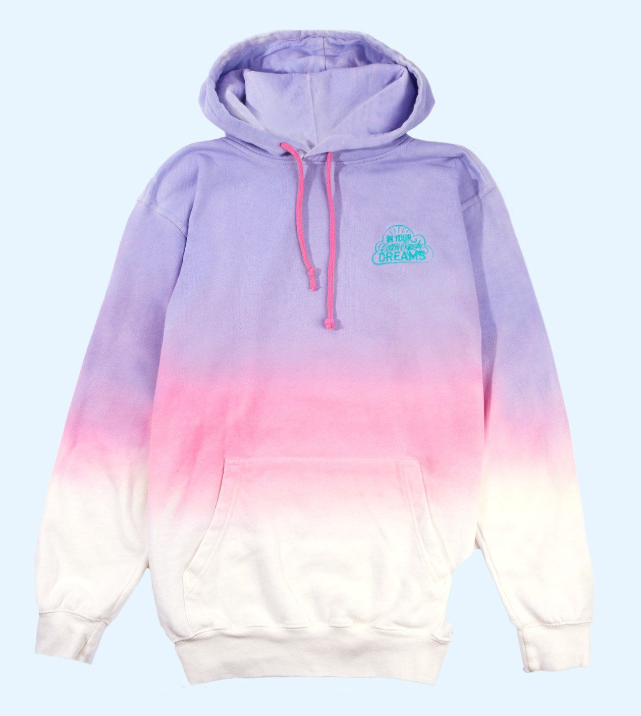 An Ombre Tie Dye Hoodie For Girls In Shades Of Lavender Pink And Cream This Is The Hoodie That Cotton Candy Dreams Are M In 2021 Tie Dye Hoodie Hoodies Kids Tie [ 1418 x 1270 Pixel ]