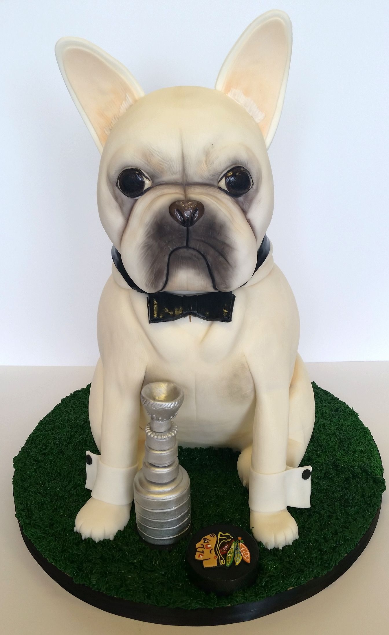 Exceptionnel French Bulldog Cake by Jessica James | DOG recipes | Pinterest  XB64
