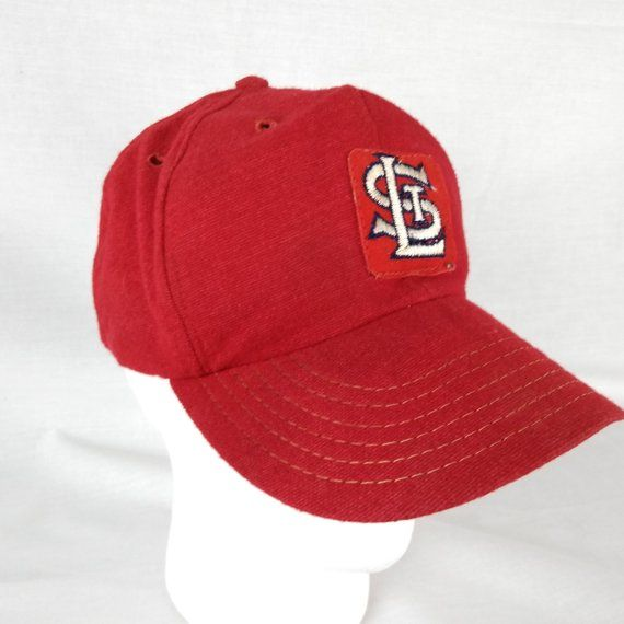 Old School St Louis Cardinals Baseball Cap -Size LARGE Union Made by  Pennant Headwear. Embroidered 2 inch patch  85% Wool 15% Nylon Condition   Hat is in ... 0ff1b6adb82