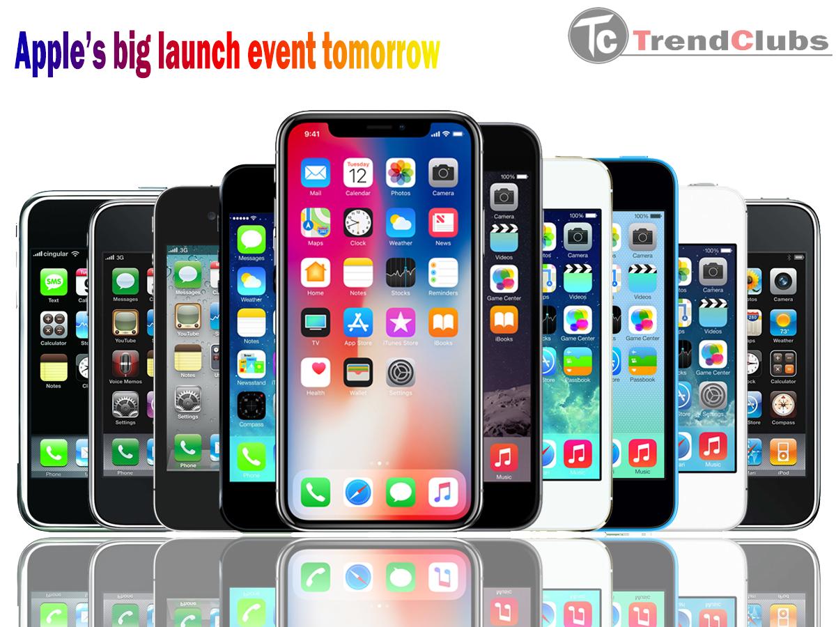 Apple event 2018,Apple's big launch event tomorrow,THREE