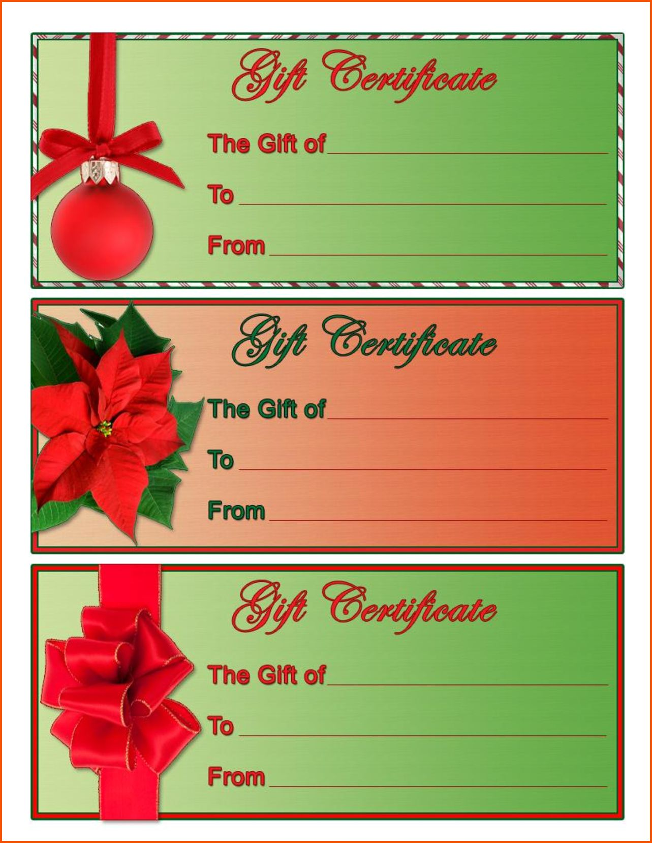 4 Christmas Gift Certificate Template Free Download Survey Th In 2020 Christmas Gift Certificate Template Christmas Gift Certificate Free Printable Gift Certificates Christmas certificate template free download