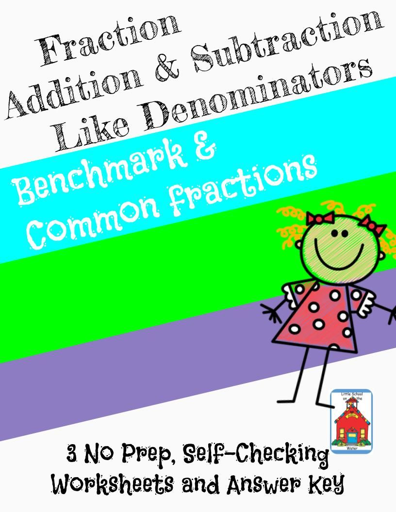 Fraction Add & Subtraction like Denominators Who Am I